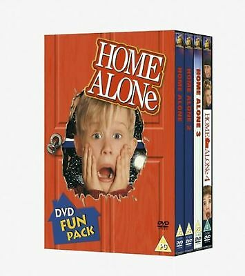 Home Alone - Series 1-4 Complete Collection 1 2 3 4 New Sealed UK Region 2 DVD (Home Alone 1 2 3 4)