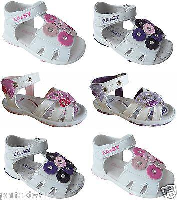 Süße Mädchen Sandalette Kinder Schuhe Sandale Gr.19 - 26 Art.- Nr.324/327
