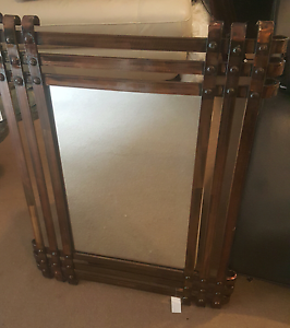Feature mirror bronze with bolts brand new Petersham Marrickville Area Preview