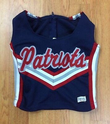 New England Patriots Halloween Costume (Cheerleading Top -New England Patriots -Youth XS- Halloween)