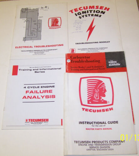 Tecumseh Engine and Transmission Group Catalogs