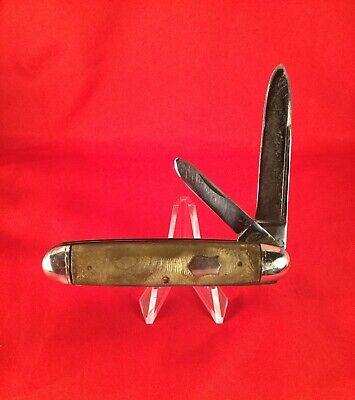 Vintage Challenge cut co Bridgeport Conn. pocketknife 1905-28 old antique knife.