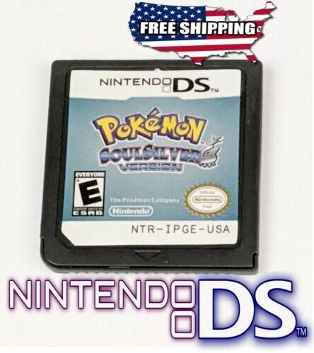 Pokemon Soul Silver Version ~ Nintendo DS NDS 3DS DSi DS Lite **NEW +More