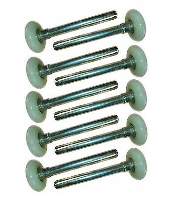 Laufrollen -10 Stück 46mm/119mm, Achse 11mm, Führungsrolle Sektionaltor Rolltor