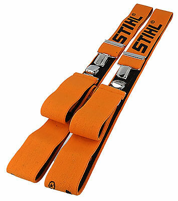 STIHL Chainsaw / Arborist Trouser Braces. Clip Type 110cm 0000 884 1510
