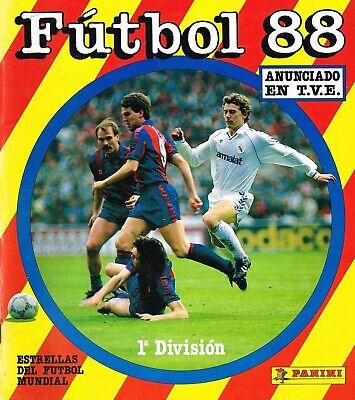 ALBUM CROMOS FUTBOL FUTBOL 88 FACSIMIL COMPLETO Y NUEVO
