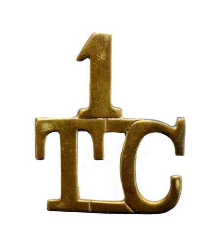 British 1st Tank Corps Shoulder Title