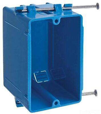 Lamson B118AR-UPC Carlon Single Gang Box With -