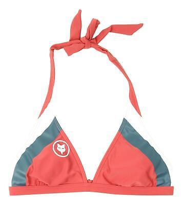 Rio Halter Bikini (Fox Womens Dixie Halter Bikini Top Rio Red S New)