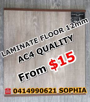 PREMIUM AC4 LAMINATE FLOORING SUPPLY&INSTALL FRM$35 CLEARANCE