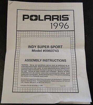 1996 polaris xlt manual