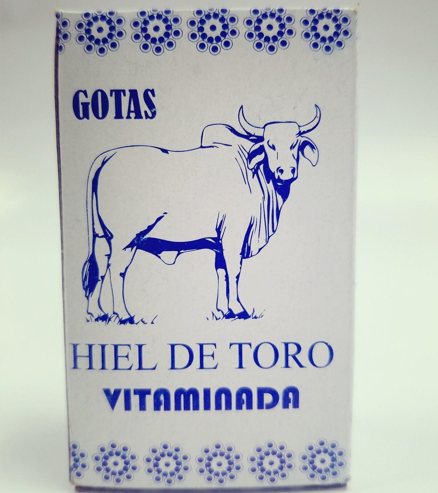 hiel de toro BULL'S GALL /BILE Increace Energy, Memory Enhance, Detox, Gastric