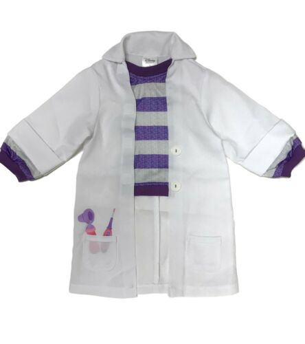 Halloween Costume Disney Doc McStuffins Lab Coat - Size 3