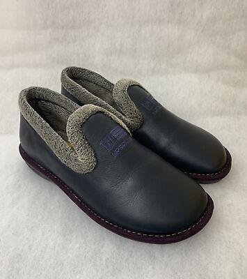 Ladies Nordika Full Leather Slippers 305/4 Plus Ohio Marino Size 37 Uk...