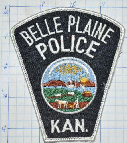 KANSAS, BELLE PLAINE POLICE DEPT PATCH
