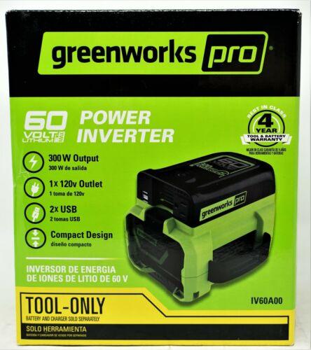 Greenworks Pro 60V Power Inverter 300 Watt IV60A00