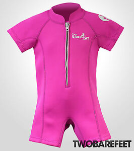 Classic Baby Wetsuit Swim Suit by TBF - Kids Childs Toddlers Suit