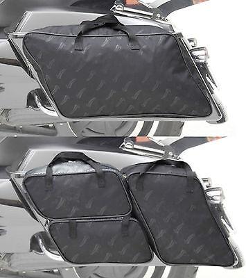Saddlemen 4 Piece Saddlebag Packing Cube Liner Set Harley Davidson FLH Touring for sale  Zieglerville
