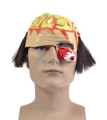 Gehirn Kopfbedeckung mit Gory Augen Maske Körper Teil Halloween Kostüm - Gehirn Maske Kostüm