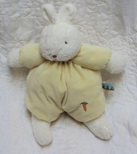 Bunnies by the Bay SWEET BUNS BUNNY baby plush yellow carrot