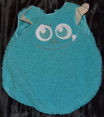 James P Sullivan Sulley Monsters Inc Halloween Costume Fits Kids Size 18-24 - James P Sullivan Costume