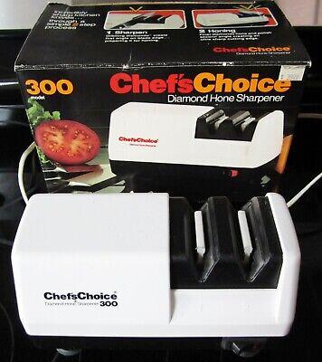 Chef's Choice Model 300 Two Step Diamond Hone Knife Sharpener