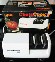 Chef's Choice Model 300 Two Step Diamond Hone Knife Sharpener