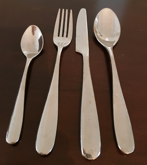 Ezibuy stainless steel 10 setting cutlery set
