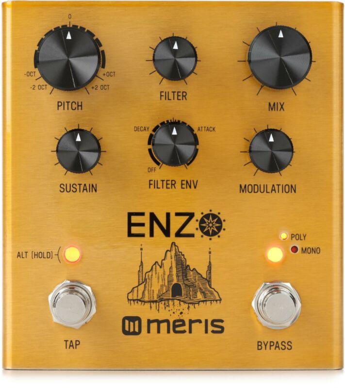 Meris Enzo Multi-Voice Instrument Synthesizer Pedal (Enzod1)