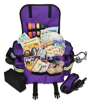 Lightning X Small First Responder Emt Trauma Bag Stocked First Aid Fill Kit B Pp