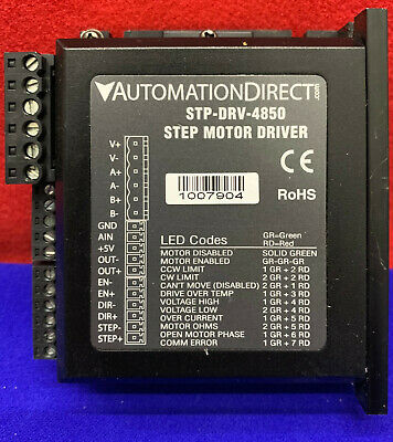 Automation Direct Stp-drv-4850 Step Motor Driver