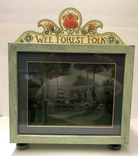 Wee Forest Folk Custom Display Box - DB-G