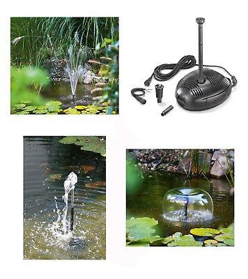 12-18 Volt Solar Ersatzpumpe Solarpumpe Teich Springbrunnen Gartenteich Pumpe