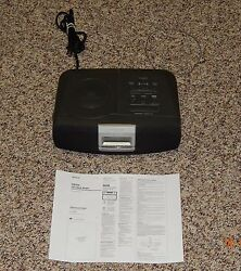Sony ICF-CD821 Dream Machine Alarm Clock AM/FM Radio CD Player No CD Play