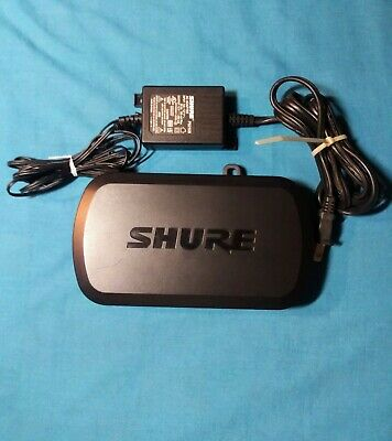 Shure PG4 Wireless Diversity Microphone Receiver W/10 Selectable Channels! -