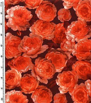 Red Roses From Kona Bay Fabrics Half Yard
