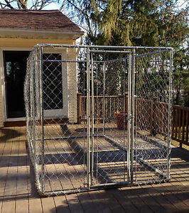 Dog Kennel Large Outdoor Pet Fence 6 039 X10 039 X6 039 EBay