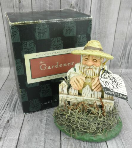 🔥David Frykman 1995 The Gardener DF4501 Figurine🔥