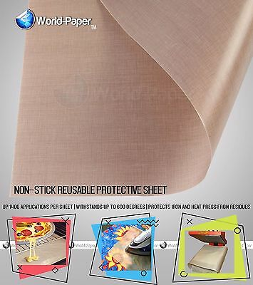 3 Pack Thick Protective Non-stick Sheet For Heat Press 16x24 -5 Mil 0.005 Inch