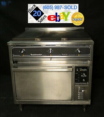Commercial 36 Electric Hot Top Convection Oven Range
