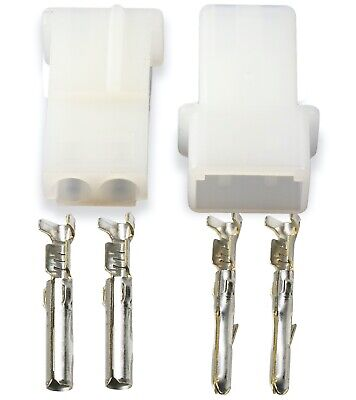 Teamp 2 Pin Male Female Connector Commercial Mate-n-lok Free Hanging