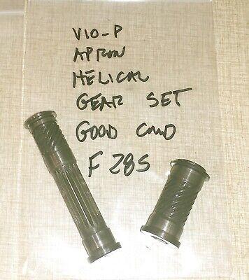Emco Maximat V10-p Lathe Apron Parts Helical Gear Set F28s