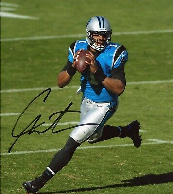 Cam Newton Autographed Signed 8x10 Photo Panthers REPRINT