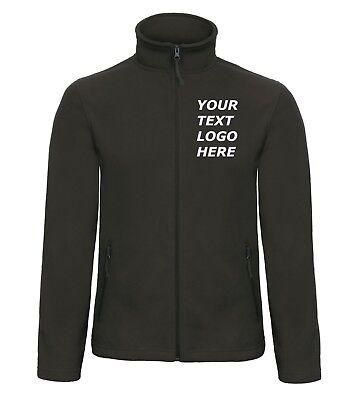 New Custom Embroidered Personalised Fleece Jackets, High quality Workwear