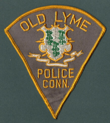 Old Lyme Connecticut Police Patch