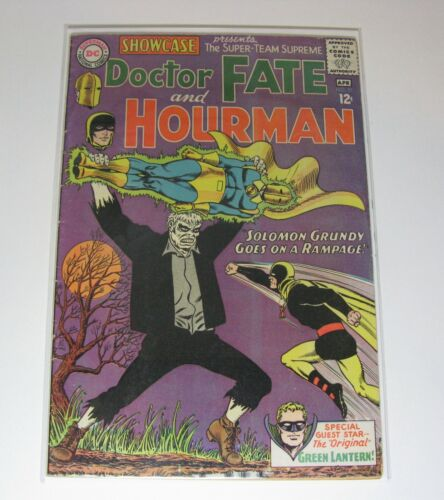 SHOWCASE #55 (1st Silver Age SOLOMON GRUNDY) (KEY ISSUE) DC COMICS