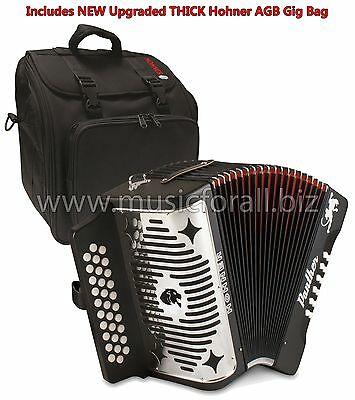 Hohner Panther FBE FA Pantera Acordeon FBbEb NEW Accordion +GigBag_Straps_Tshirt