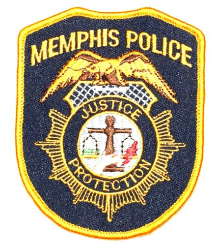 MEMPHIS TENNESSEE TN Sheriff Police Patch CITY SEAL LOGO SCALE EAGLE BLUE 3.75""