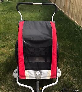 Chariot cougar double / jogging stroller/ bike trailer