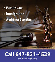 Legal Aid Family Lawyer, Divorce Lawyer. 647-831-4529
